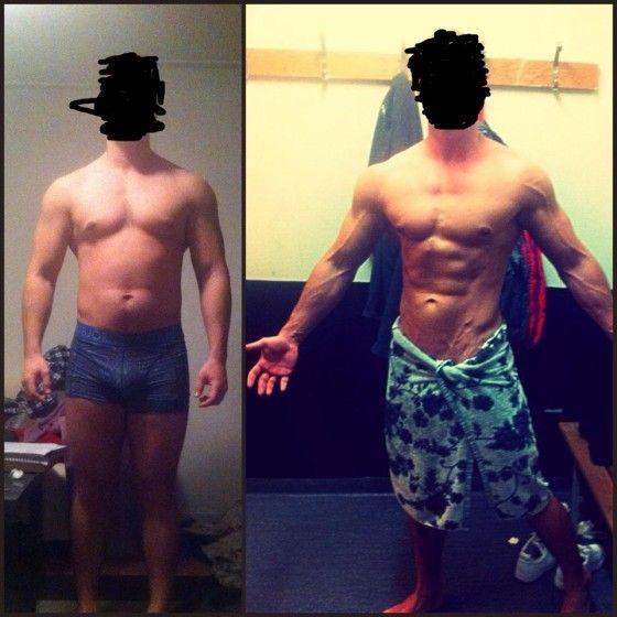 anavar steroid tranformation