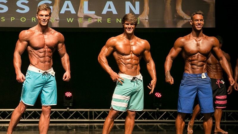 Top 3 Men`s Physique Stockholm Pro - Jeff Seid, Anton Antipov, Robin Balogh