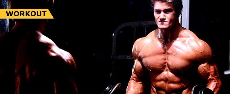 Jeff Seid Pro Chest and Tricep Workout