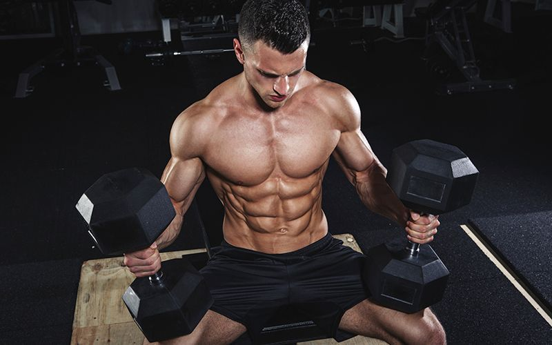 get bigger chest with Hunter's top 5 moves for building insane pecs