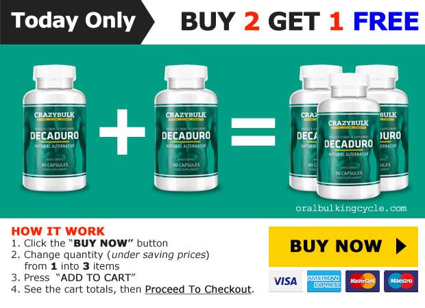 Deca Durabolin - buy 2 get 1 free