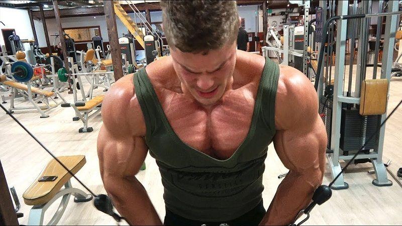 Insane Chest & back workout-Epic Mass Techniques