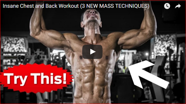 3 Epic Mass Techniques for a Huge Chest and Back (That You Probably Aren't Aware Of)