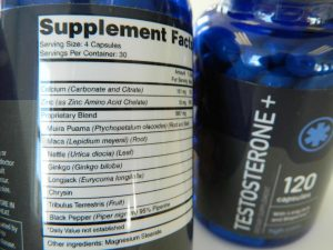 Testosterone Plus Ingredients