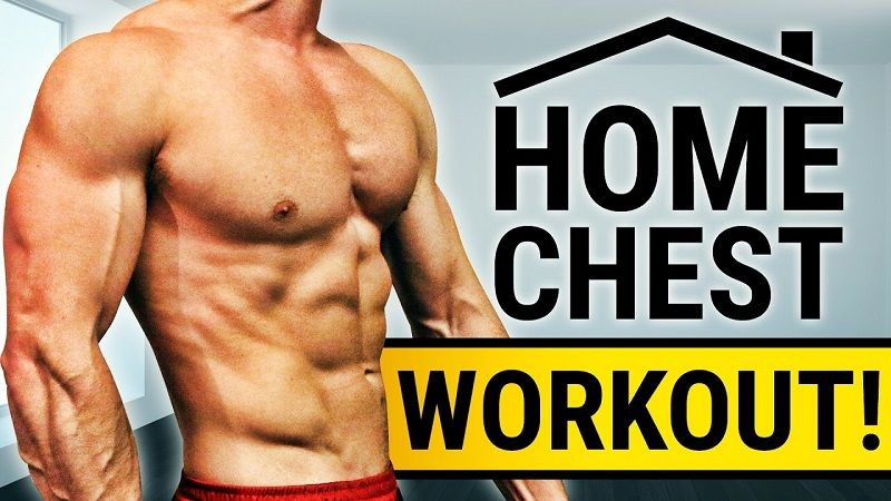 home chest workout