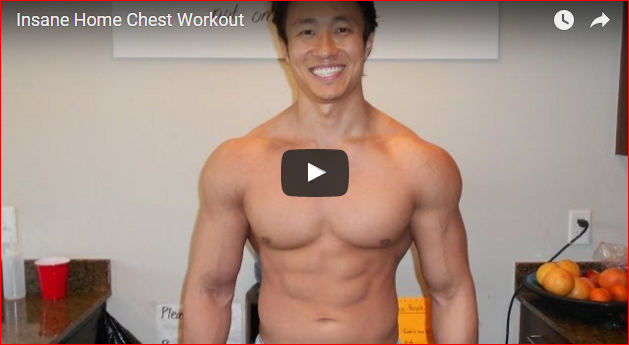 A Home Chest Workout Challenge Only for the Brave!