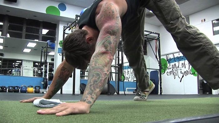 Bodyweight Exercise #3: Pike Press Ups