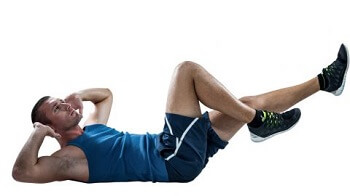 ab workout #9: Bicycle Crunch
