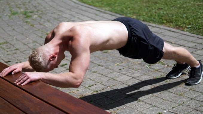 Bodyweight Exercise #2: Bodyweight Tricep Extensions