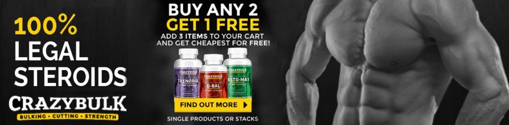 Crazybulk australia- buy 2 get1 free