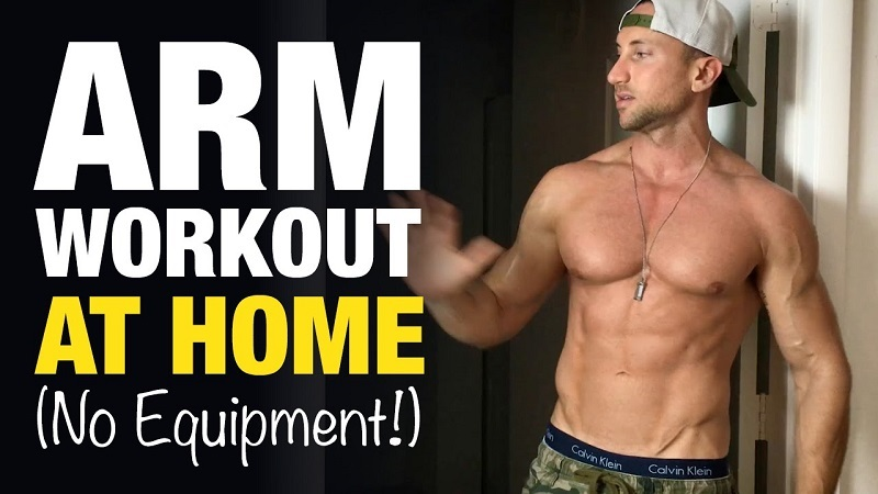 how to get your arms bigger without weights