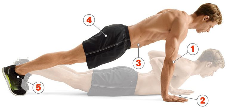 best way to do push ups and it makes the push up more effective
