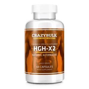 Crazy Bulk HGH-X2