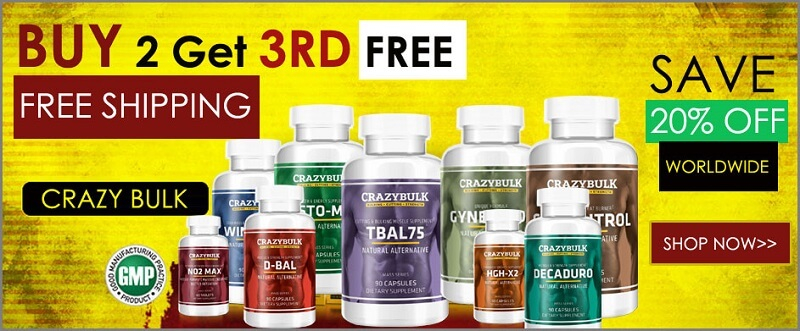 crazy bulk supplement for sale