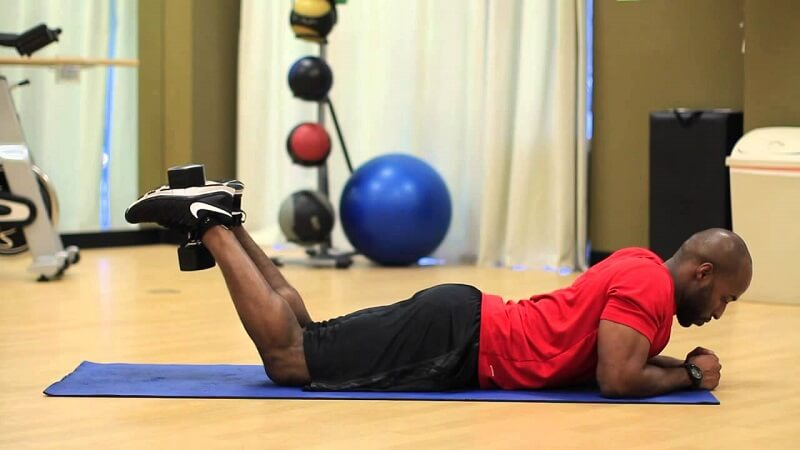 Leg Extension 5: Lying Leg Curls