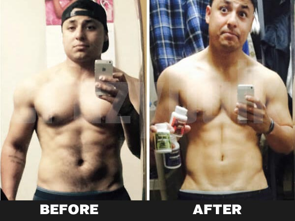 D-bal before & after result