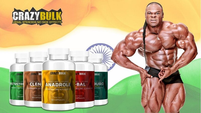 Buy Crazybulk products in india