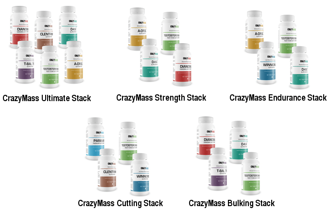 Crazy Mass products