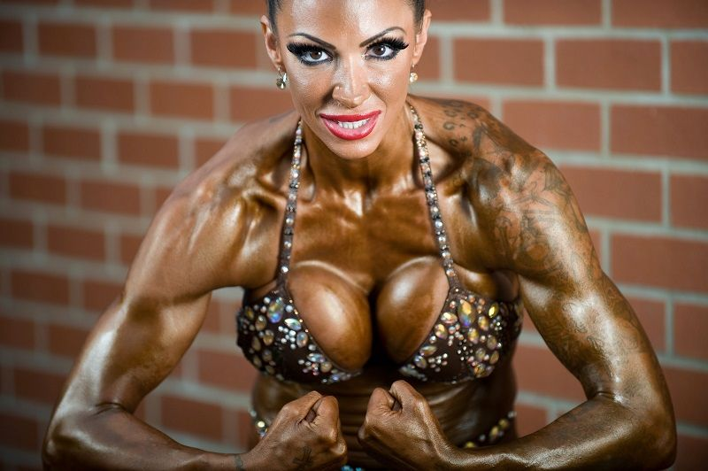 Jodie Marsh bodybuidler reveals her new bodybuilding physique pictures