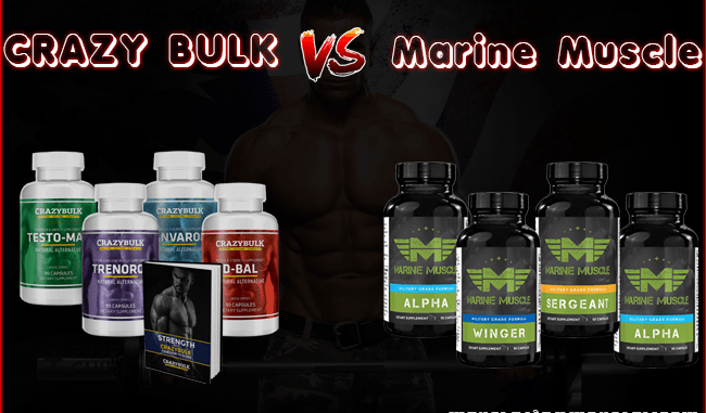Crazy Bulk vs Marine Muscles