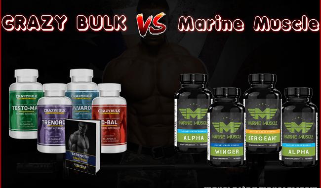Crazy Bulk vs Marine Muscles