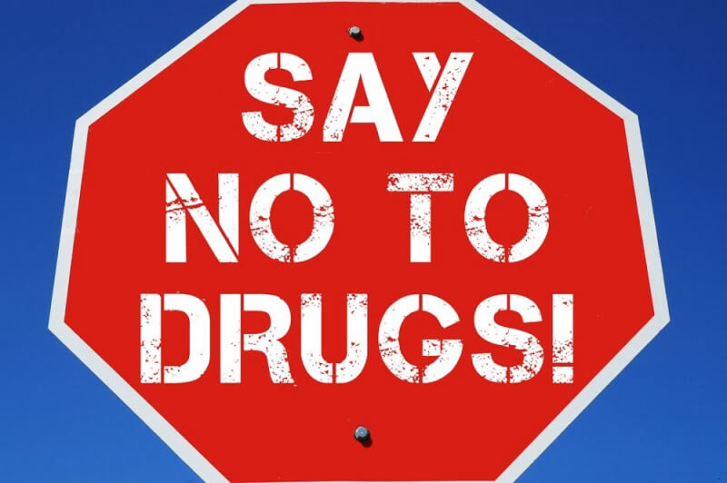 Illegal drugs banned in USA