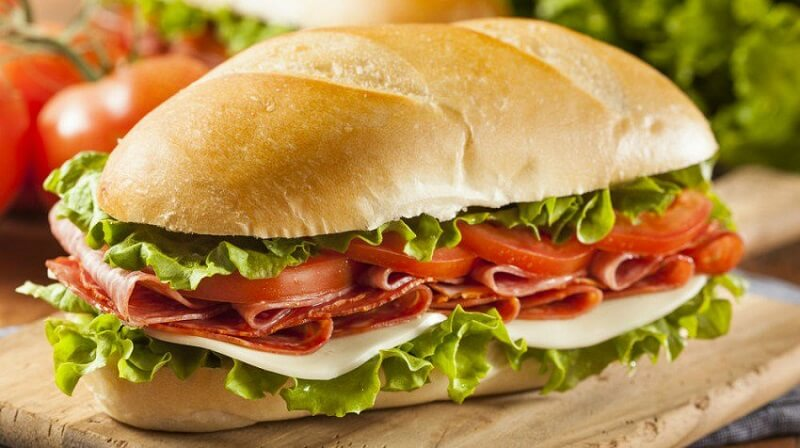 subway- good source of protein