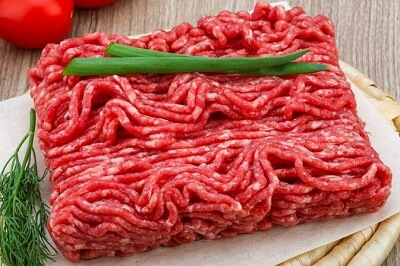 Lean ground beef is made from whole cuts of beef