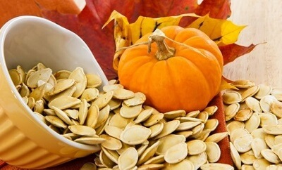 Salty Roasted Pumpkin Seeds