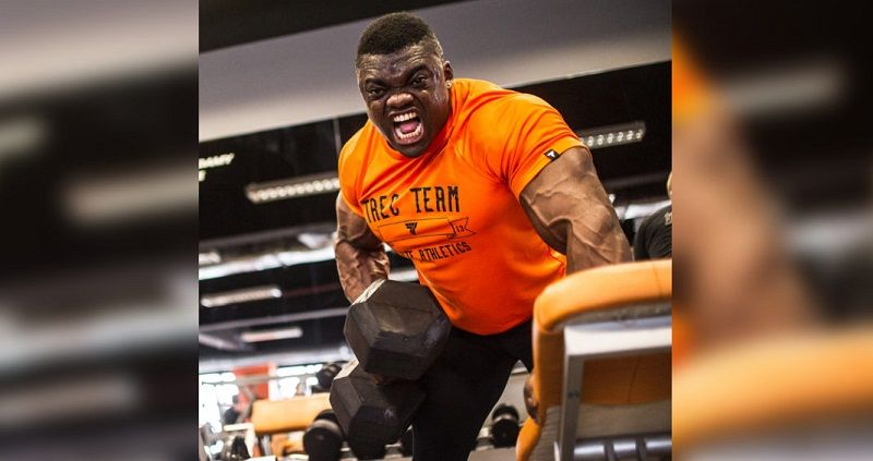 Irish Bodybuilder Blessing Awodibu
