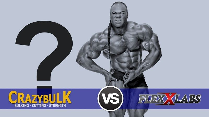 crazy bulk vs flexx labs