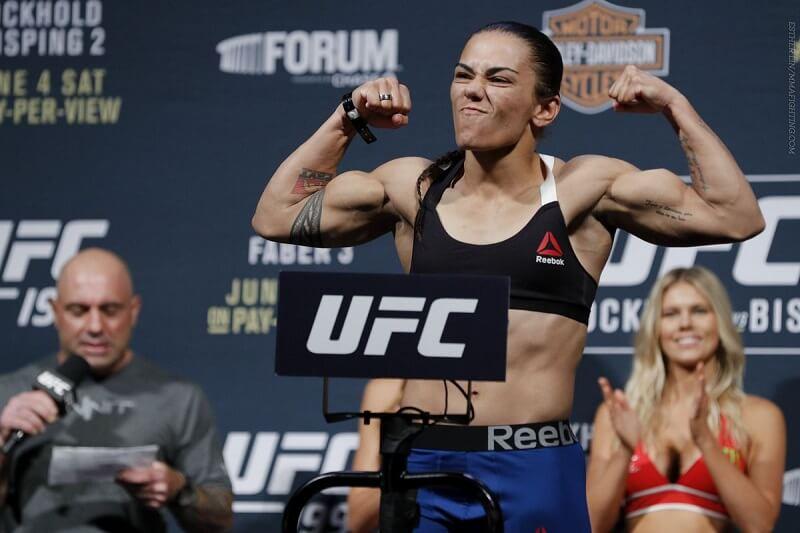 UFC-Japan's Jessica Andrade