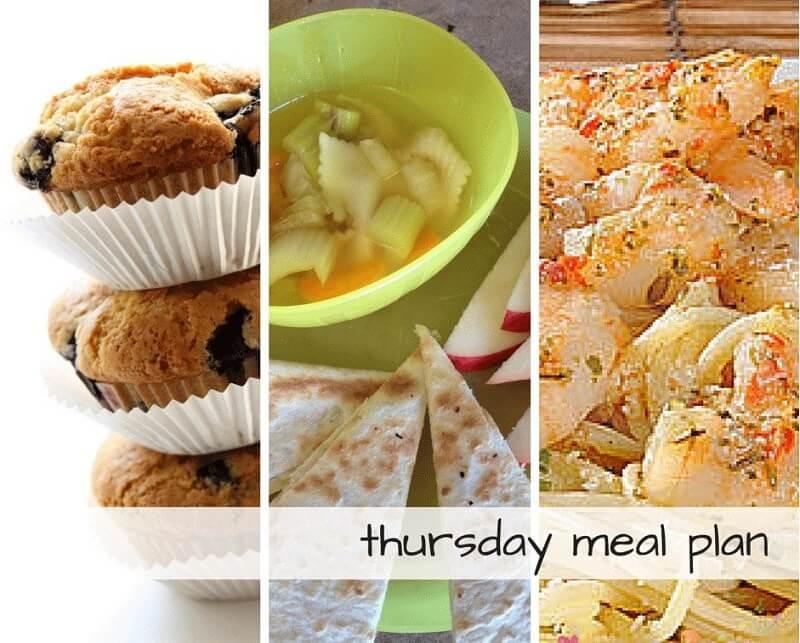 Thursday meal plan