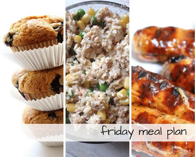 Friday meal plan