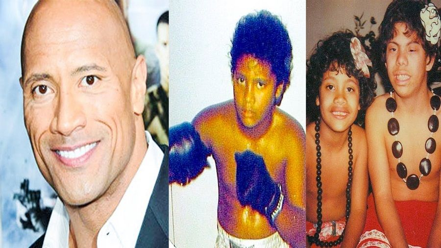 Dwayne The Rock Johnson Unseen, Rare, Childhood Photos of The Rock