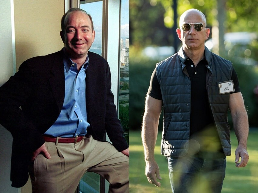 jeff bezos transformation