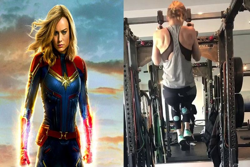 Brie Larson's Captain Marvel Inspiring Workout From