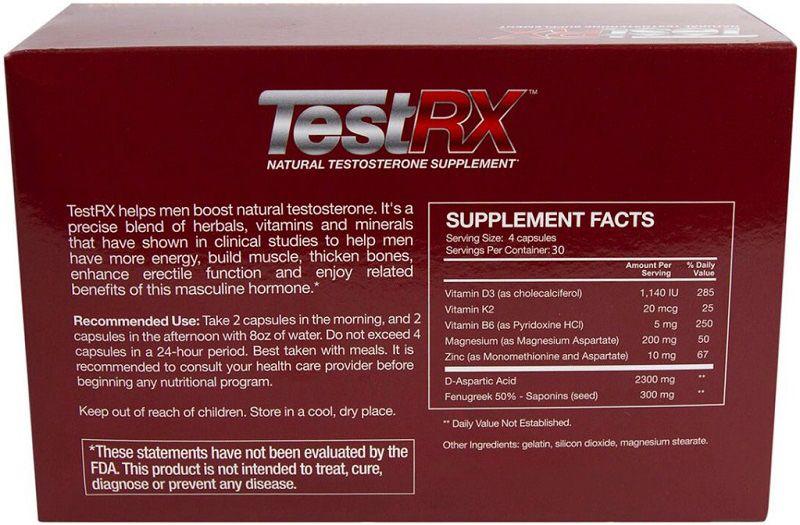 TestRX-Ingredients