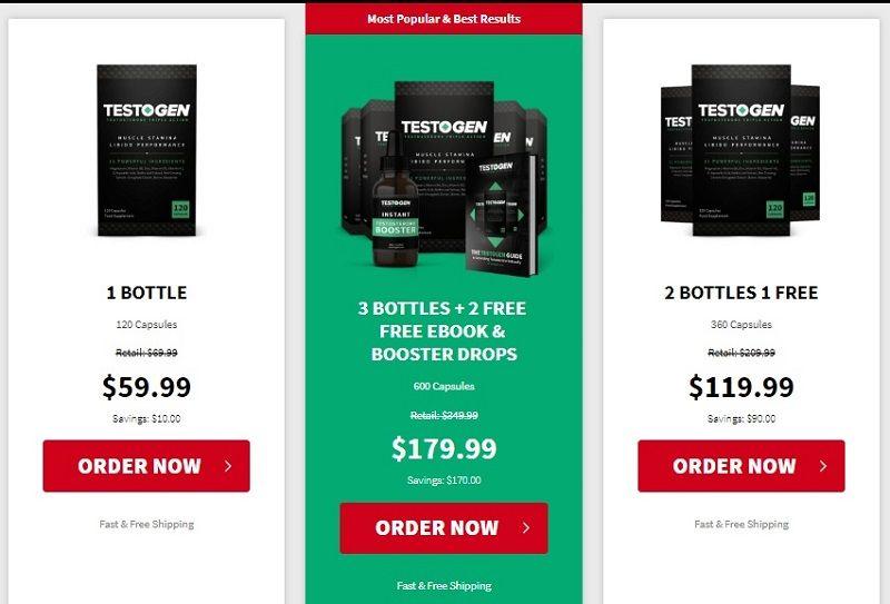 TestoGen-Price