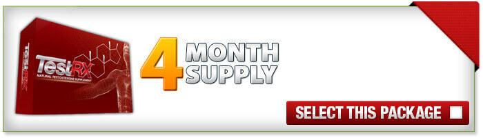 TestRX 4 Month Supply