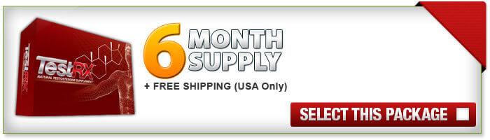 TestRX 6 Month Supply