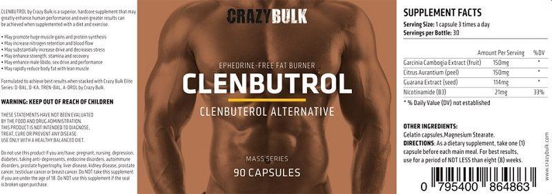 Crazy-Bulk-Clenbutrol-Ingredients