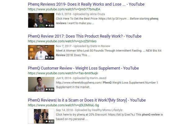 PhenQ reviews YouTube