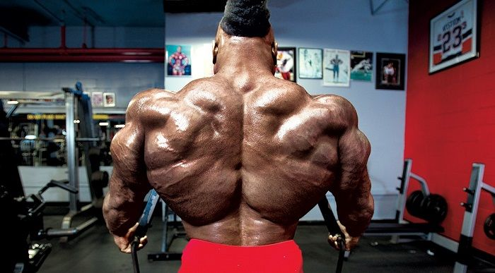 Kai Greene Back Pose