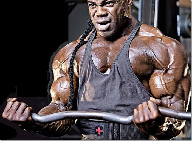 Kai Greene Workout Chest