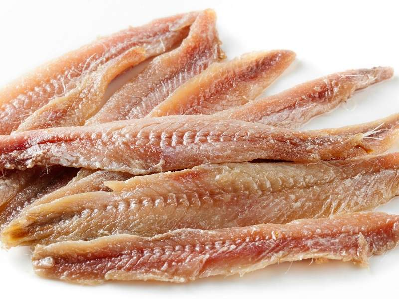 Anchovies Protein Foods