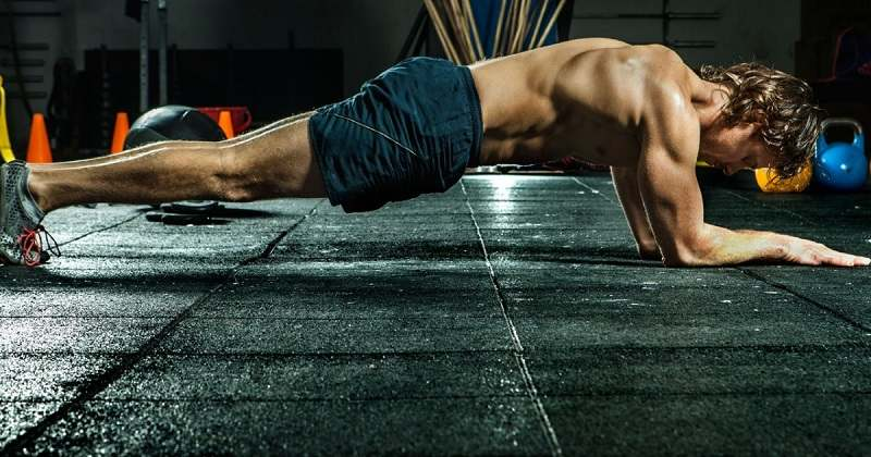 Plank for abs after 40