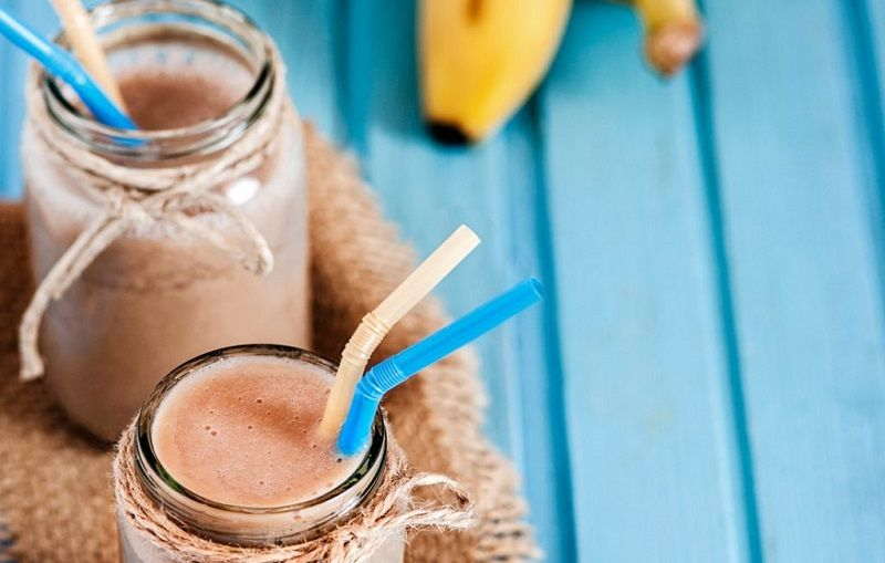 Banoffee smoothies for bodybuilding
