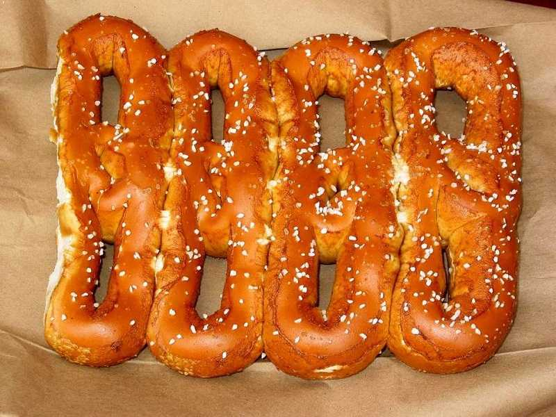 Pretzels worst food for bodybuilding
