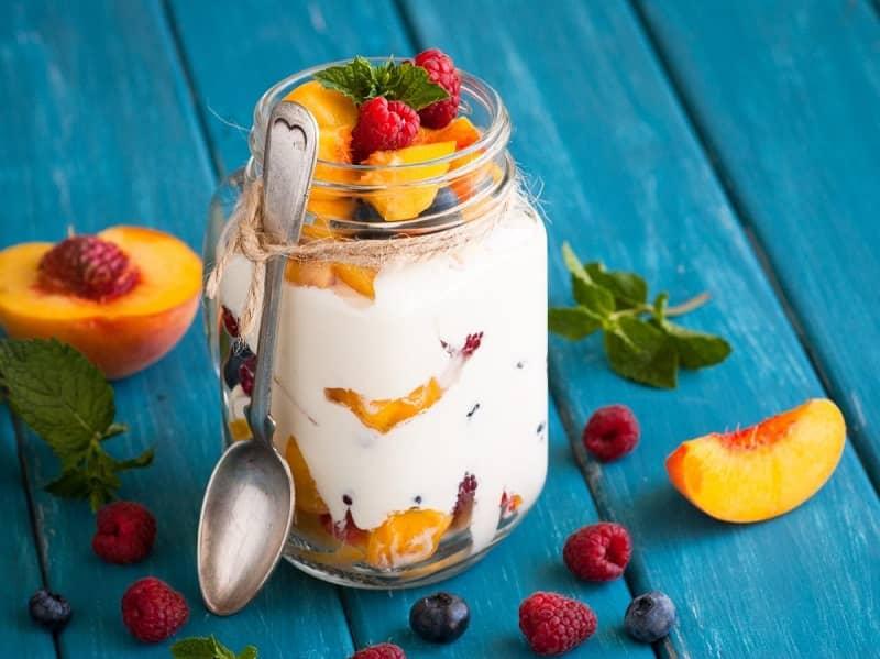 Fruit And Greek Yogurt